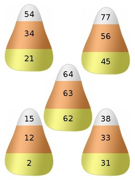 Candy Corn Counting - Editable!
