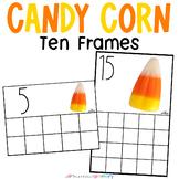 Candy Corn Counting Frames 0-20 | Mini Eraser Math Center