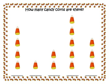 Candy Corn Counting Fun