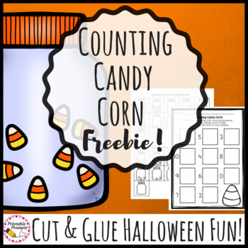 Halloween Math Activity - Candy Corn Counting