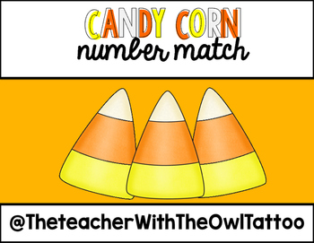 Candy Corn Counting Match