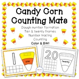 Candy Corn Counting Mats