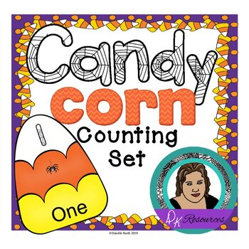 Candy Corn Counting Set with Puzzles, Posters, and Flash C