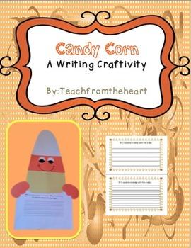 Candy Corn- A Halloween Craft & Writing