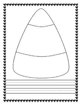 Candy Corn Craft and Writing