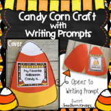 Candy Corn Craft with Writing Prompts Halloween Craft Fall