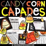 Candy Corn Halloween Craft Activity (Craftivity)
