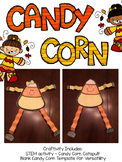 Candy Corn Craftivity and STEM project