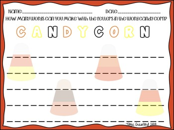 Fall Activities: Candy Corn Theme Fun for Everyone!