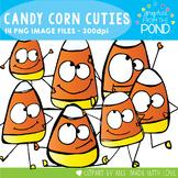 Candy Corn Cuties Halloween Clipart