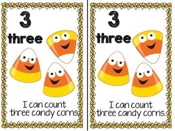 Candy Corn Emergent Reader & Centers