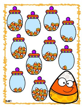 Candy Corn Envelope Activities - Math