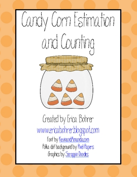 candy corn estimation and counting free by erica bohrer