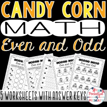 Candy Corn Even and Odd!