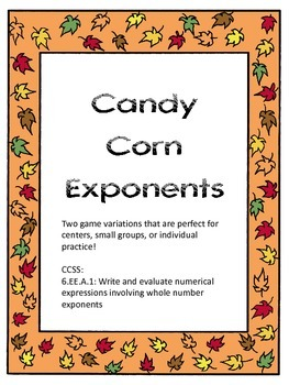 Candy Corn Exponents