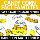 Fact Families Center Candy Corn