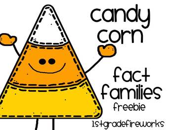 Candy Corn Fact Families...FREEBIE