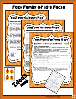 Candy Corn Fact Family of 10's