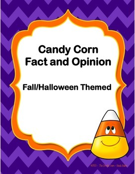 Candy Corn (Halloween) Fact and Opinion
