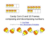 Candy Corn Fall 5 and 10 frames