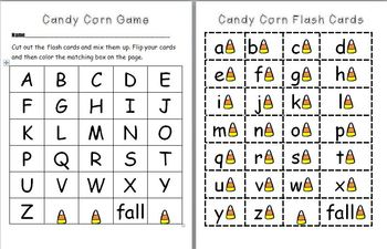 Candy Corn Fall Packet