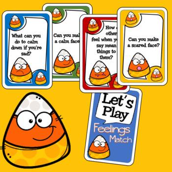Candy Corn Feelings Card Game