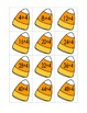 Candy Corn File Folder Game (Division by 4's)
