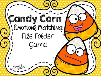 Candy Corn File Folder Game: Emotions Matching {Halloween}