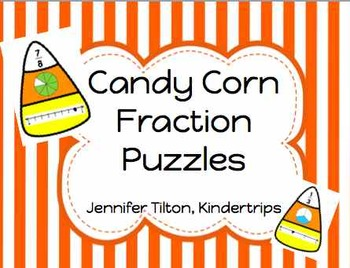 Candy Corn Fraction Puzzles
