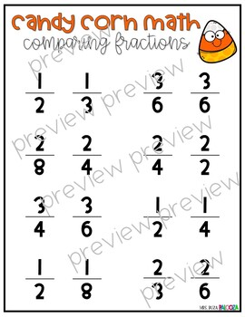 Candy Corn Fractions!