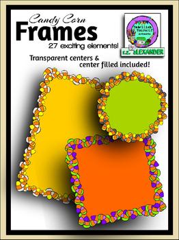 Candy Corn Frames