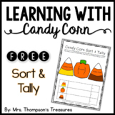Candy Corn Fun FREEBIE - Sort & Tally