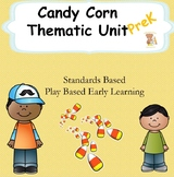 Candy Corn Fun- Math, Literacy, Sensory Play Unit- PreK