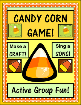 """Candy Corn Game!"" - Craft and Song for Halloween Fun"