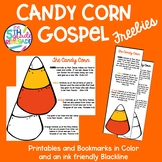 Candy Corn Gospel Bookmarks and Printable Christian School