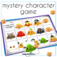 Candy Corn Guess Who: An expressive language game