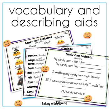 Candy Corn Costumes an Expressive and Receptive Language Game