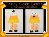 Candy Corn Halloween Craft & Printables