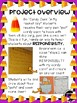 Candy Corn In My Pocket Halloween craft and writing activity