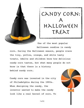 Candy Corn - Informative Short Text