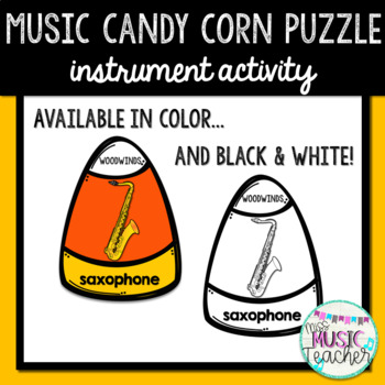 Candy Corn Music Match Up: Instrument Identification