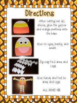 Candy Corn Kids {A Craftivity}
