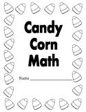 October/Halloween Candy Corn Kindergarten/First Grade Math