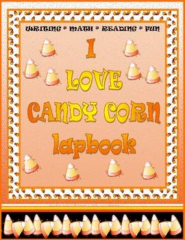 Candy Corn Lap Book