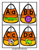 Candy Corn Letter Matching Game