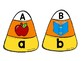 Candy Corn Letter Puzzles