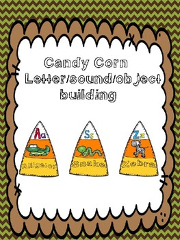 Candy Corn Letter/Sound/Object Matching