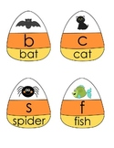 Candy Corn Letter Sound-Picture Matching