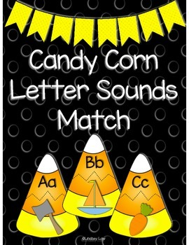 Candy Corn Letter Sounds Match