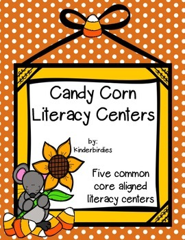 Candy Corn Literacy Centers
